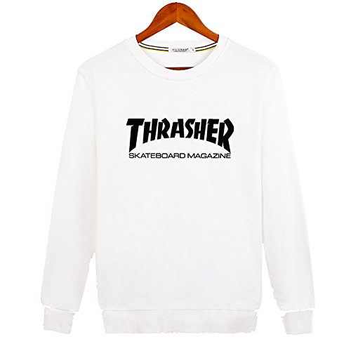 2016 New Thrasher Mag Logo For Ladies Womens Hoodies Long Sleeve Sweatshirts Pullover Outlet von 2016 New Thrasher Mag Logo Hoodies 3617520514183