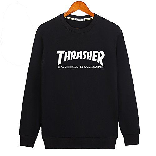 2016 New Thrasher Mag Logo For Ladies Womens Hoodies Long Sleeve Sweatshirts Pullover Outlet von 2016 New Thrasher Mag Logo Hoodies 3617520514237