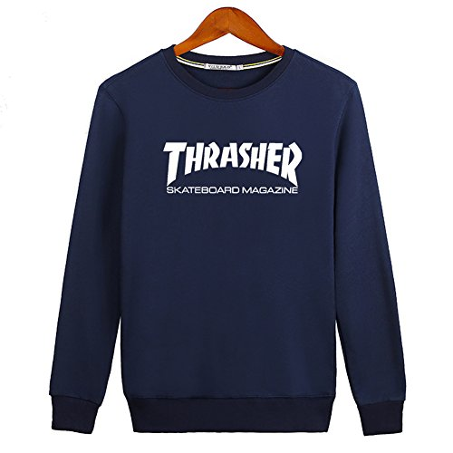 2016 New Thrasher Mag Logo For Ladies Womens Hoodies Long Sleeve Sweatshirts Pullover Outlet von 2016 New Thrasher Mag Logo Hoodies 3617520514299