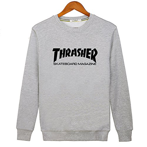 2016 New Thrasher Mag Logo For Ladies Womens Hoodies Long Sleeve Sweatshirts Pullover Outlet von 2016 New Thrasher Mag Logo Hoodies 3617520514343