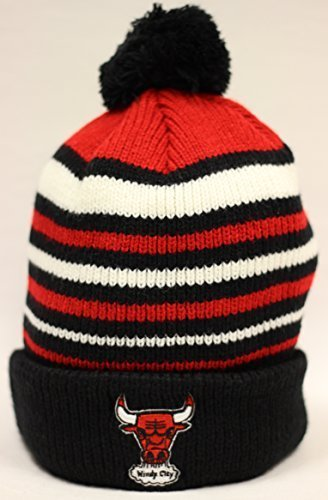 The 47 Brand 47 Brand neigbar Chicago Bulls Striped Cuff Pom Beanie by the 47 Brand von The 47 Brand 0784427650146