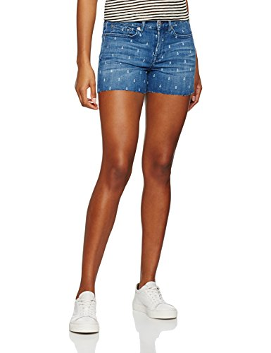 7 for all mankind 7 For All Mankind Damen Slouchy Shorts von 7 For All Mankind