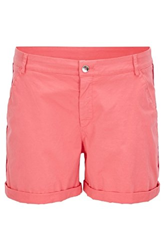 Boss Orange Damen Relaxed-Fit Chino Shorts aus elastischer Baumwolle Pink Gr.40 von BOSS Hugo Boss 4029047153162
