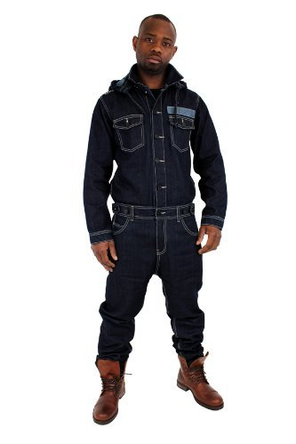 Brooklyn Mint Herren Overall Jeans von Brooklyn Mint