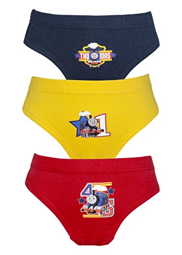 Cartoon Character Products Thomas Tank Engine 3 Pack Jungen Hosen/Slips 18 Monate - 5 Jahre von Cartoon Character Products