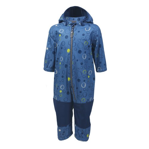 Color Kids, Tajo Softshell Overall, Jeans Blue von Color Kids