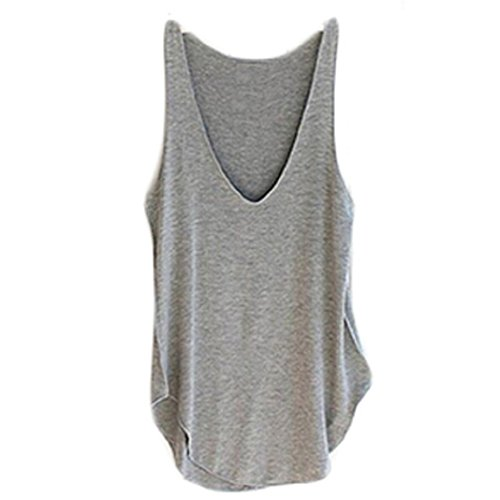 Culater Westen,Mode Sommer Frau Lady Ärmellos V-neck Candy Weste Lose Tank Tops -T-Shirt von Culater®