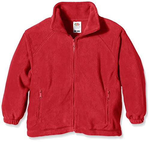 Fruit of the Loom Fruit of the Loom Jungen Jacke Fleece, , Gr. von Fruit of the Loom
