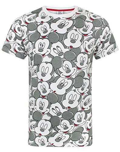 Indien Mickey Mouse Disney Face All Over Print Men's T-Shirt von Mickey Mouse