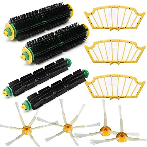 365 Saver Saver 11Pcs Filter Brush Pack Kit für iRobot Roomba 500 Serie 510 530 540 550 560 580 von 365 Saver 5057647027520