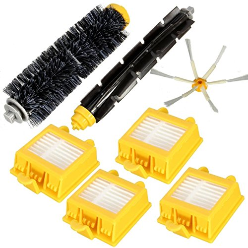 365 Saver Saver 7Pcs Filter Brush Pack Kit für iRobot Roomba 700 Serie 760 770 780 790 von 365 Saver 5057647018139