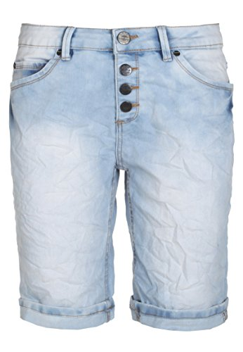 Sublevel Sublevel used Jeans Bermuda-Shorts für Damen | kurze Hose für den Sommer aus stretch-Jeans von Sublevel