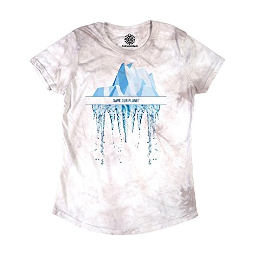 The Mountain The Mountain Rettet Unseren Planeten Damen T Shirt von The Mountain