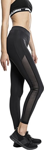 Urban Classics Urban Classics Damen Ladies Tech Mesh Stripe Leggings von Urban Classics